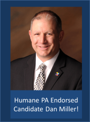 Dan Miller - Humane PA endorsed candidate for state representative - District 42